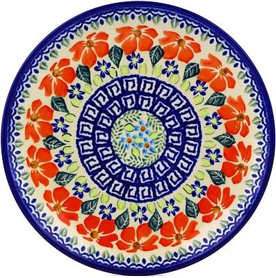 Polmedia Grecian Fields Polish Pottery Decorative Plate