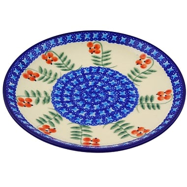 Polmedia Berries Polish Pottery Decorative Plate