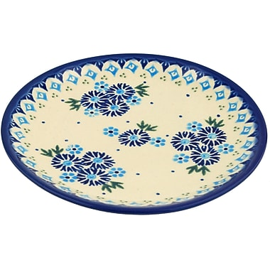 Polmedia Aster Patches Polish Pottery Decorative Plate