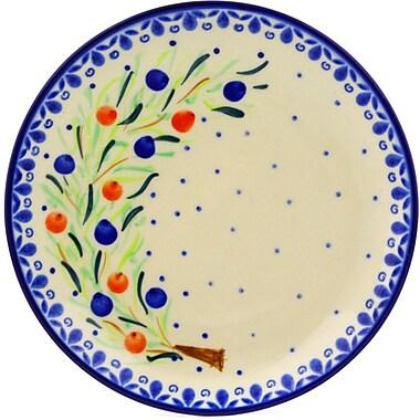 Polmedia Berry Splash Polish Pottery Decorative Plate