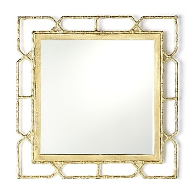 Willa Arlo Interiors Deverick Gold Frame Wall Mirror