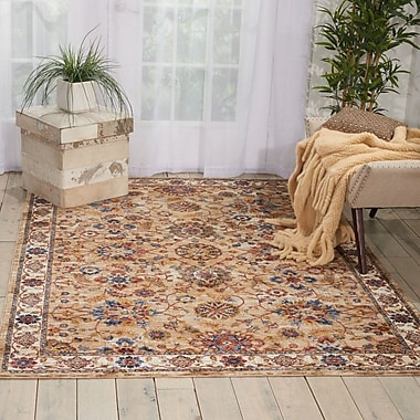 Astoria Grand Westbrook Natural Area Rug; Square 5'