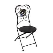 Fleur De Lis Living Carraton Metal Side Chair