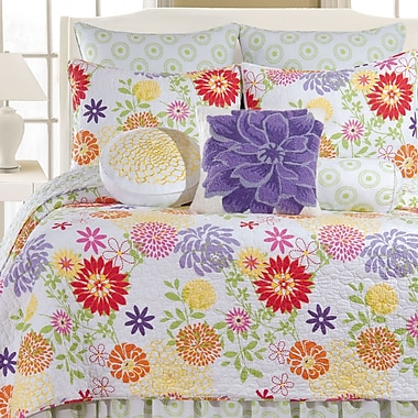 Harriet Bee Cayce Cotton Quilt; Full/Queen