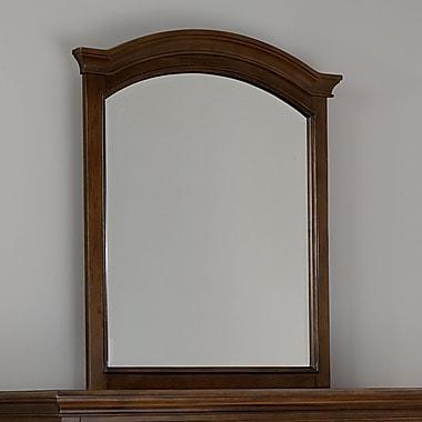Harriet Bee Javin Arched Dresser Mirror; Chestnut