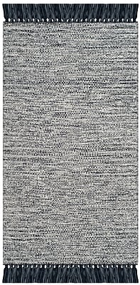 Harriet Bee Zyra Hand-Woven Gray Area Rug; 8' x 10'