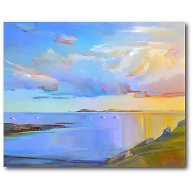 Highland Dunes 'Summer Cove' Print on Wrapped Canvas