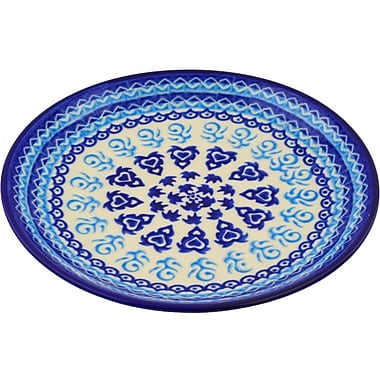 Polmedia Love Circle Polish Pottery Decorative Plate