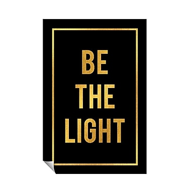 Successories Be The Light Wall Decal; 36'' H x 24'' W