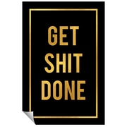 Successories Get Shit Done Wall Decal; 48'' H x 32'' W