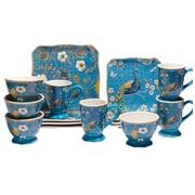 World Menagerie Mcbride 16 Piece Dinnerware Set, Service for 4