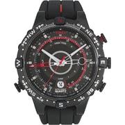 Timex - Montre boussole intelligente, quartz, température, marée, noir (T2N720)