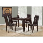 "Monarch I 1180 Dining Table, 32""x 48"", Cappuccino"