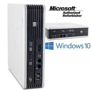 HP - PC de table DC 7900 SFF remis à neuf, 3 GHz Intel Core 2 Duo E8400, SSD 128 Go, 4 Go, Windows 10 Famille