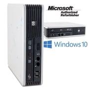 HP Refurbished DC 7900 SFF Desktop Computer, 3.0 GHz Intel Core 2 Duo E8400, 128 GB SSD, 4 GB , Windows 10 Home