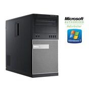 Dell - PC de table OptiPlex 7010 tour remis à neuf, 3,2 GHz Intel Core i5 3470S, DD 500 Go, 8 Go, Windows 7 Pro