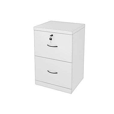 Z-Line ? Classeur vertical à 2 tiroirs, blanc (ZL2254-2WVU)