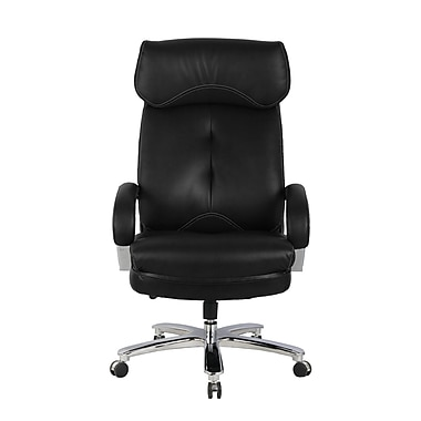 Z-Line ? Fauteuil Big and Tall, cuir noir (ZL1427ECU)
