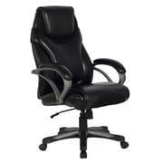 Z-Line Big & Tall Chair, Black Leathercare (ZL1286ECU )