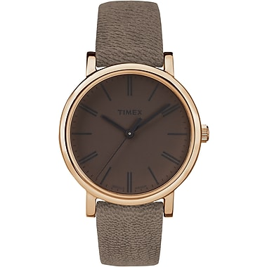 Timex Originals Tonal Watch, Dark Brown (TW2P96300ZA)
