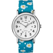 Timex Weekender 38mm Watch, Blue Floral (TW2R24000ZA)