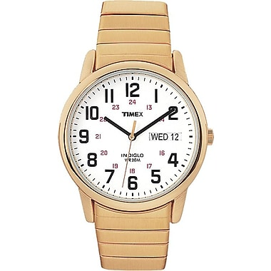 Easy Reader Extra-Long Watch, Gold (T2N092AW)