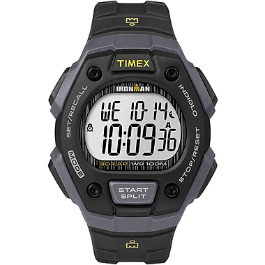 Timex IRONMAN Watch, Black & Grey (TW5M09500GP)