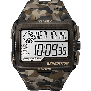 Timex Expedition Watch, Brown Camo (TW4B07300CS)