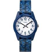 Timex Kids Watch, Blue & Grey (TW7C120009J)