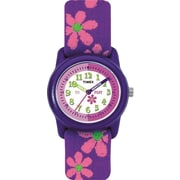 Timex Kids Watch, Purple/Pink Flowers (T890229J)