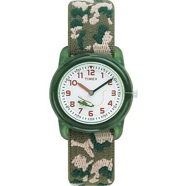 Timex Kids Watch, Green Camo (T781419J)
