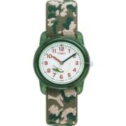 Timex - Montre pour enfants, vert camouflage (T781419J)