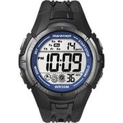 Timex MARATHON Watch, Black/ Grey/ Blue (T5K3599J)