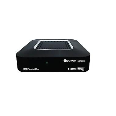 HomeWorx 4K ATSC Quad Core Android Media Streaming Box (HWA5000)