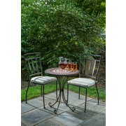 Bloomsbury Market Pavel 3 Piece Bistro Set w/ Cushion