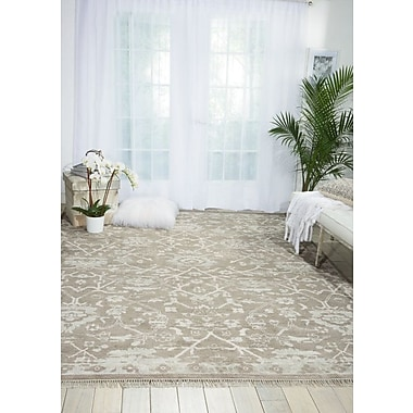Bungalow Rose Haddou Hand-Knotted Gray Area Rug; 8'6'' x 11'6''