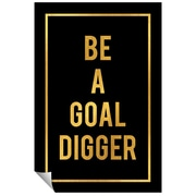 Successories Be A Goal Digger Wall Decal; 48'' H x 32'' W