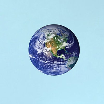 SweetumsWallDecals Earth - Printed Wall Decal; 36'' H x 36'' W