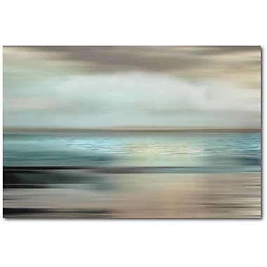 Highland Dunes 'Shimmering Sea' Graphic Art Print on Wrapped Canvas