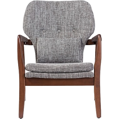 Ivy Bronx Duong Tufted Armchair; Grey