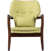 Ivy Bronx Duong Tufted Armchair; Green