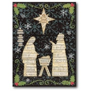 The Holiday Aisle 'The Nativity' Graphic Art Print on Canvas