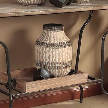 Bloomsbury Market Byrd Decorative Ornate Traditional Ceramic Table Vase
