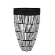 Bloomsbury Market Hines Ceramic Tribal Cone Table Vase
