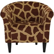 Bloomsbury Market Ronda Contemporary Upholstered Barrel Chair