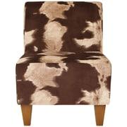 Bloomsbury Market Ronda Animal Print Armless Slipper Chair