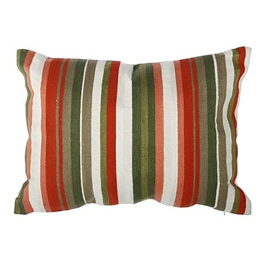 Corrigan Studio Tommie Embroidered Cotton Lumbar Pillow