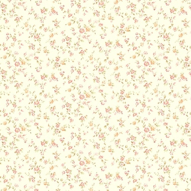 Brewster Home Fashions Martha Floral Trail 33' x 20.5'' Wallpaper Roll; Pink