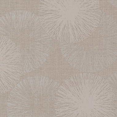 Brewster Home Fashions Naturale 33' x 20.5'' Cayman Contemporary Raffia Wallpaper Roll; Taupe