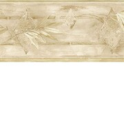 Brewster Home Fashions Lucky Day 15' x 6.9'' Leaf Wallpaper Border